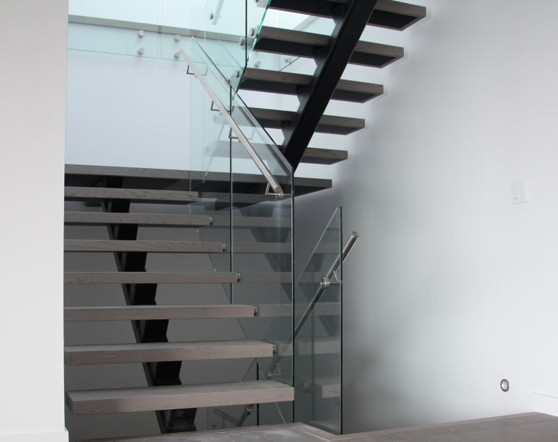 Single Metal Stringer Stairs Pictures To Pin On Pinterest